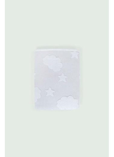 İrya New Cloud Bebek Havlusu Gri 70x120 Gri
